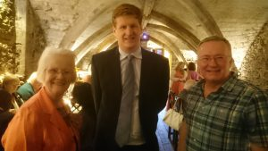 Sylvia and Trevor with Matthew Scott (Kent's Police and Crime Commissioner)