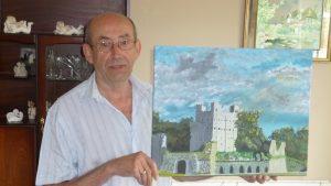 Local artist Roger Bushell
