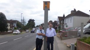 Speed Camera Re-Installed
