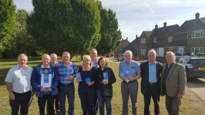 Some of the Strood South canvassing team