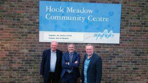 Trevor and Rupert with Walderslade councillor, David Brake