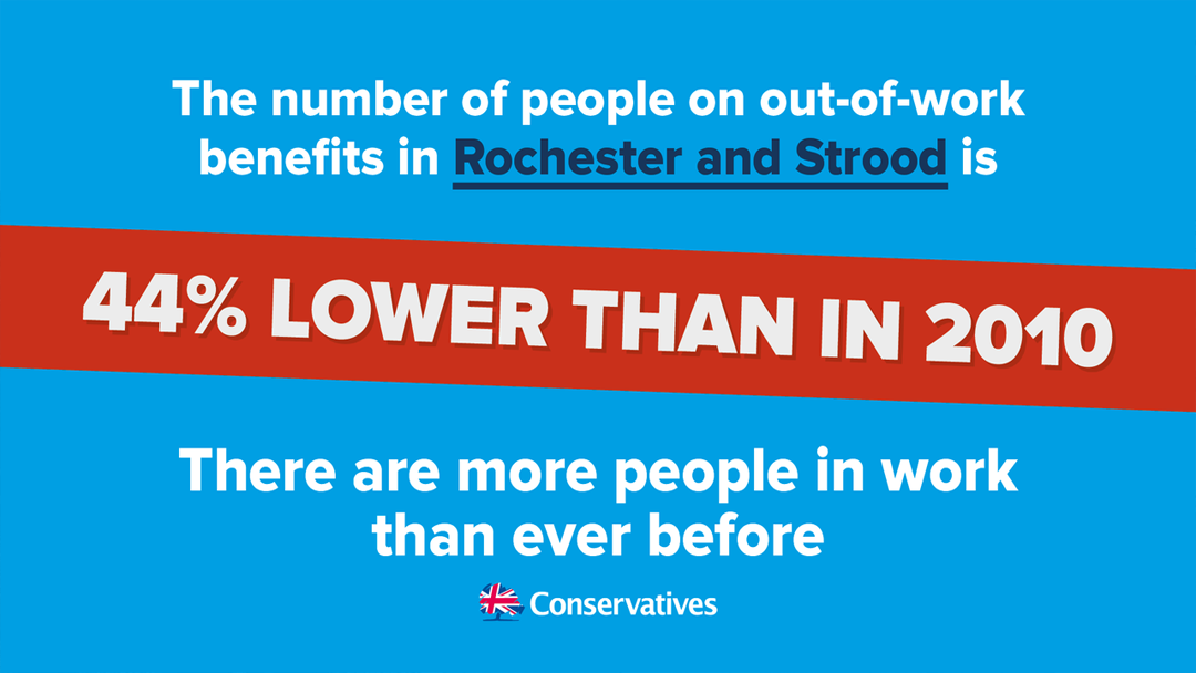 Rochester and Strood Employment Stats Sept 2017